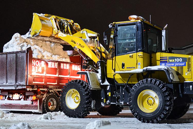 Snow proud(スノープラウド)の除排雪業務