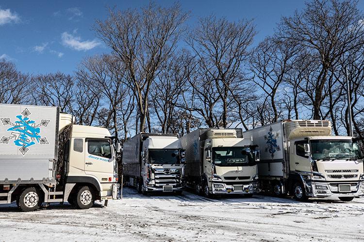 Snow proud(スノープラウド)の運輸業務 トラック